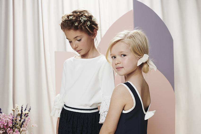 Feestelijke outfits voor grote en kleine meisjes